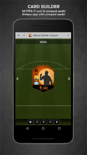 FUT Card Builder 18 screenshot 6