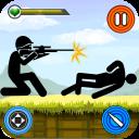 Stickman Senapan Menembak - Tindakan permainan