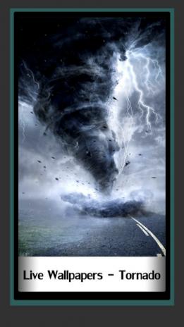 Live Wallpapers Tornado Screenshot 1
