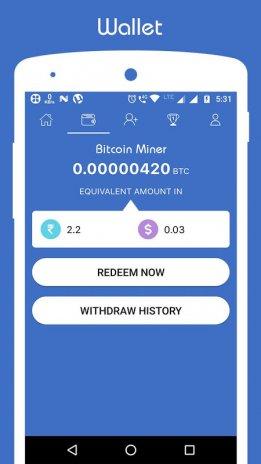 Free Bitcoin Miner Earn Btc 2 3 Android Aptoide Icin Apk Indir -