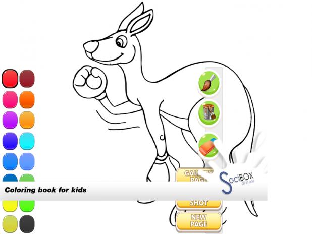 Kanguru Boyama Oyunu 10190417 Android Aptoide Için Apk Indir