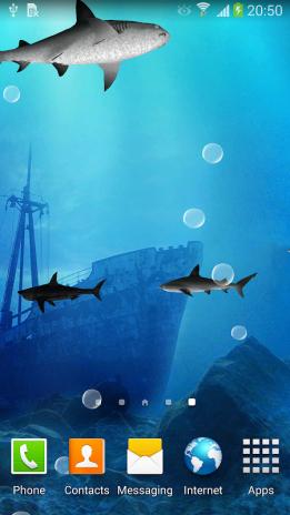 3d Sharks Live Wallpaper Screenshot 5