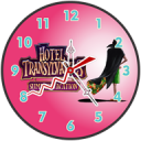 Hotel Clock Live Wallpaper
