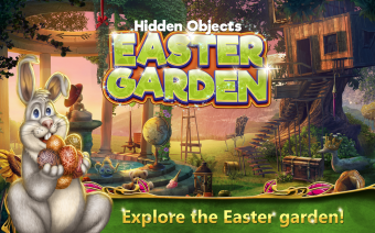 Hidden Objects Easter Garden Screenshot