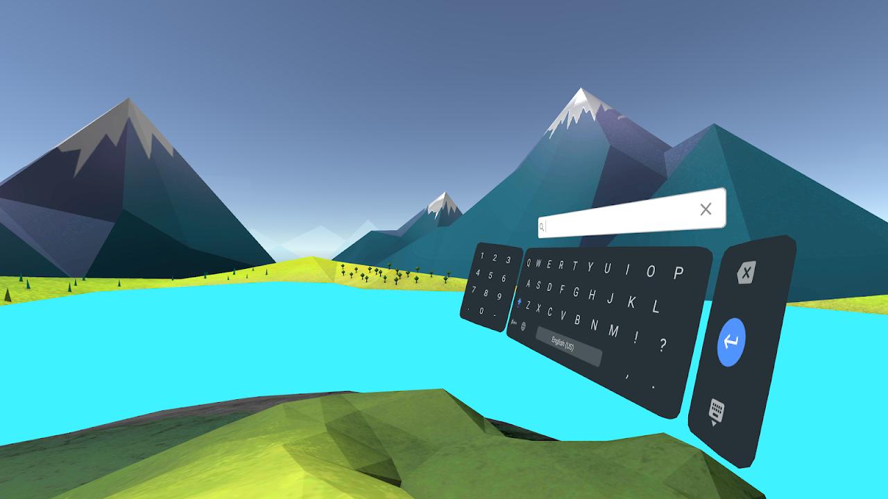 Daydream keyboard screenshot 1