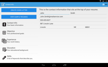 resume builder pro screenshot 9