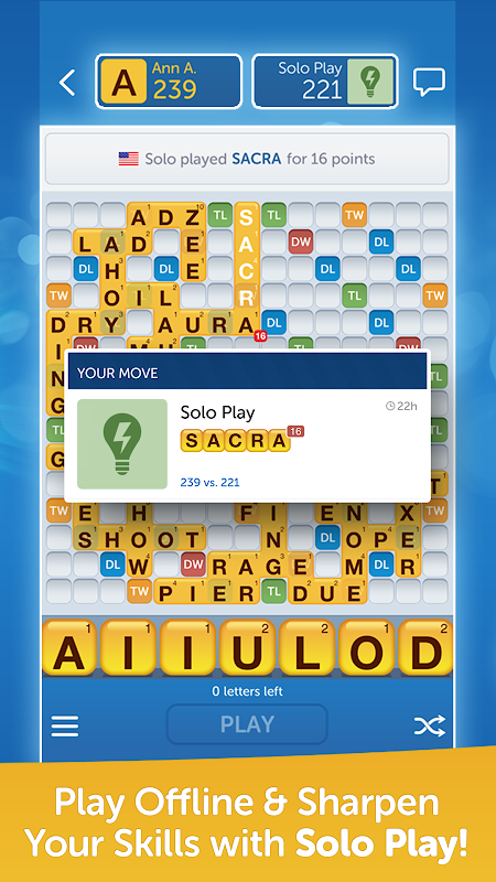 Words With Friends – Play Free screenshot 4