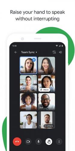 Google Meet screenshot 17