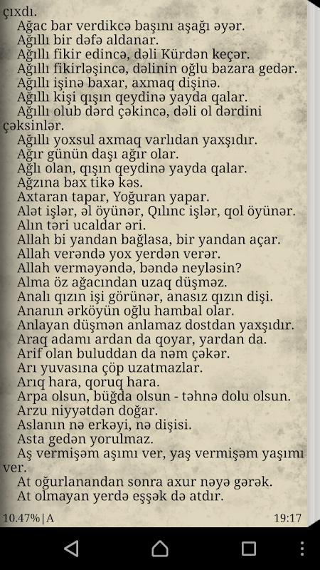 Atalar Sozləri Azərbaycan 1 0 Android Apk Sini Indir Aptoide