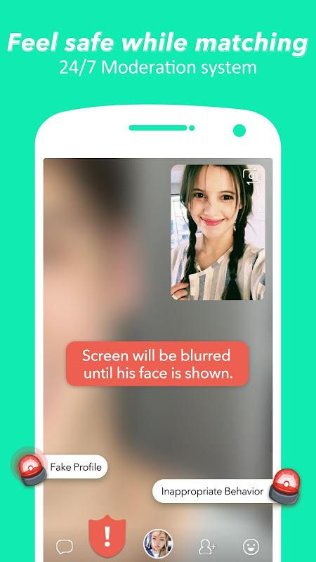 HOLLA: Live Random Video Chat, Meet New People screenshot 1
