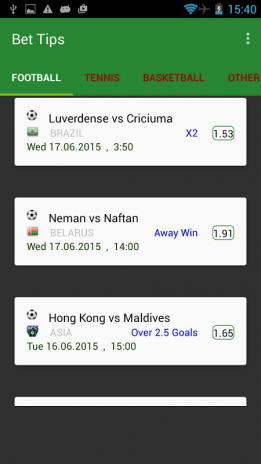 Betting Tips 3 4 Download APK for Android - Aptoide