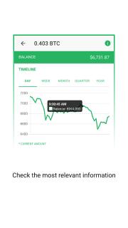 Vertfolio - Cryptocurrency Portfolio App screenshot 4