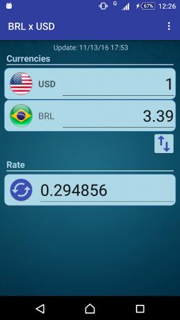 Conversor Real X Dolar Eua Captura De Tela 2