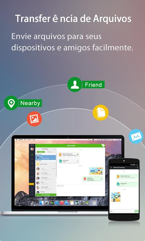 AirDroid: Acesso Remoto screenshot 2