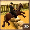 Cavalcata a cavallo da corsa: concorrenza derby