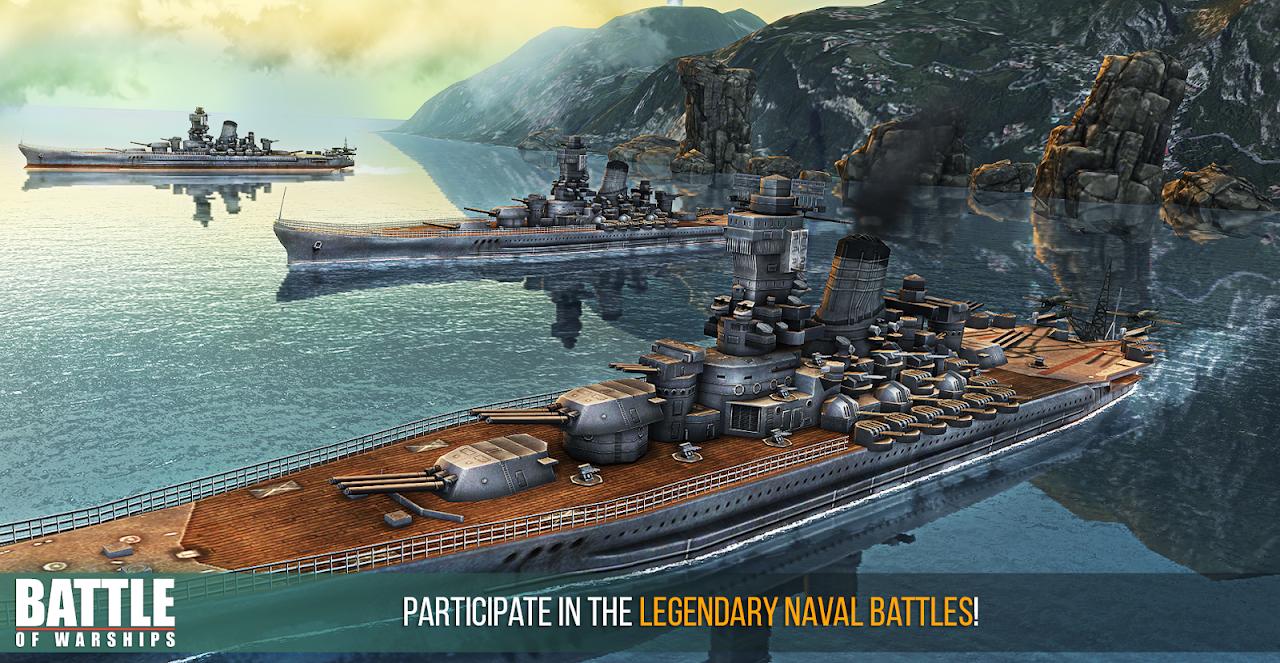 Battle of Warships: Naval Blitz screenshot 1