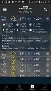 WIS News 10 FirstAlert Weather screenshot 5