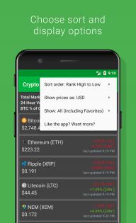 Crypto Tracker - Bitcoin, Ethereum + more tracker screenshot 4
