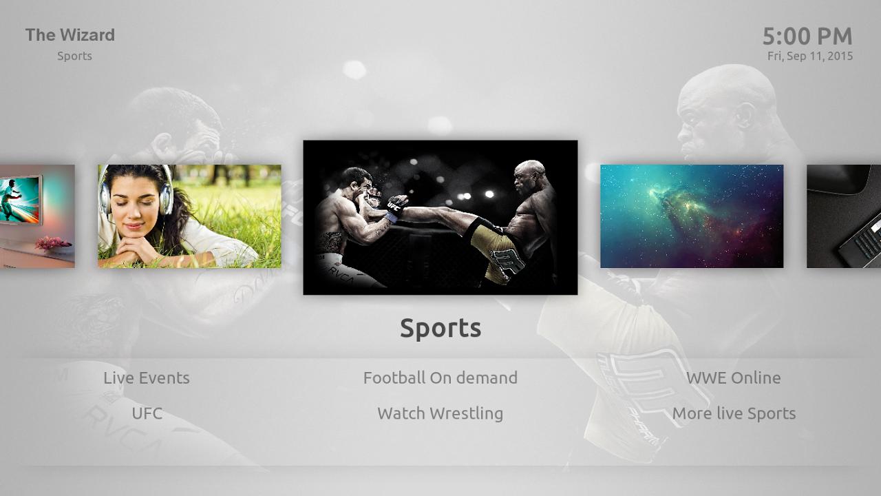 Kodi on Android screenshot 2
