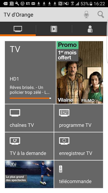 TV d'Orange, live-replay-vod screenshot 1