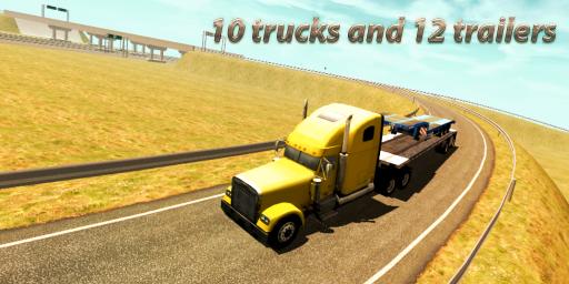 Truck Simulator : Europe screenshot 5