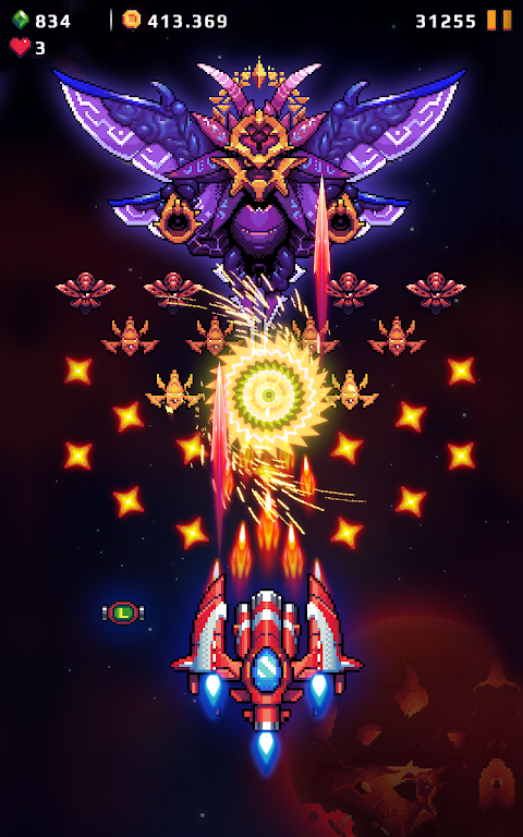 Galaxy Force - Falcon Squad screenshot 2