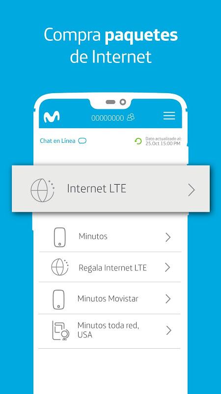 Mi Movistar - Gestión de líneas, pagos y recargas screenshot 2