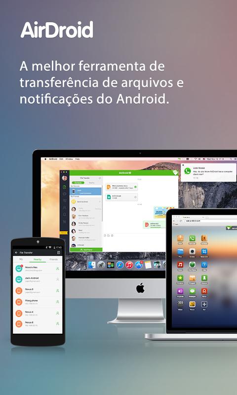 AirDroid: Acesso Remoto screenshot 1