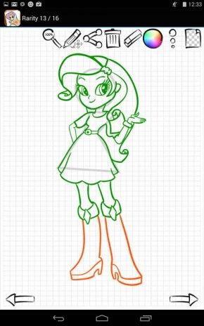 Learn to Draw Equestria Girls 1.03 Descargar APK para Android - Aptoide