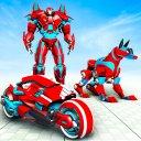 Dog Robot Transform Moto Robot