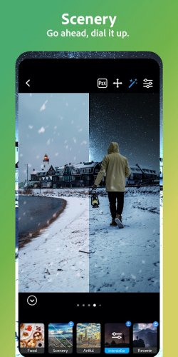 Adobe Photoshop Camera: Photo Editor & Lens Filter screenshot 7