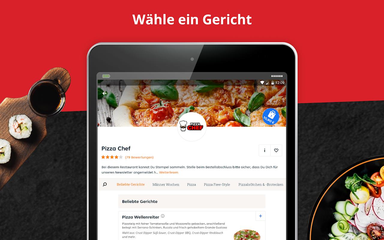 LIEFERHELD | Order Food screenshot 1
