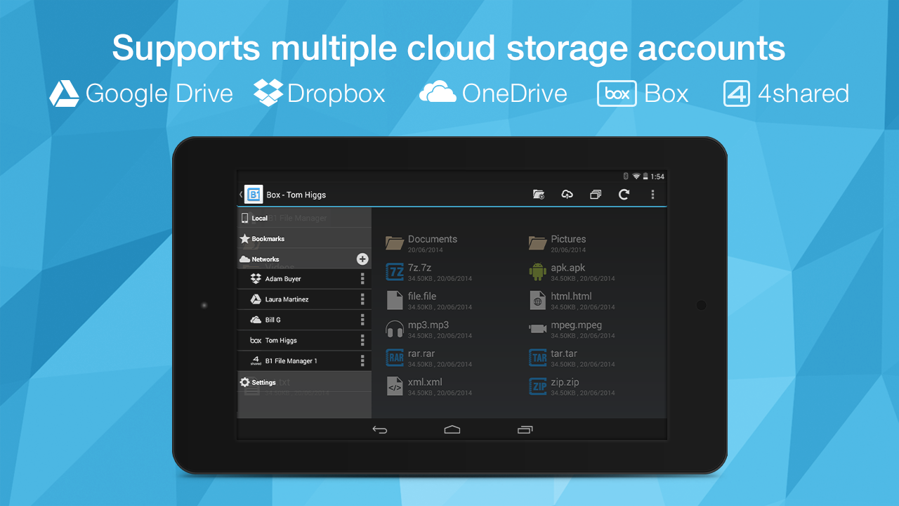 B1 File Manager and Archiver screenshot 2