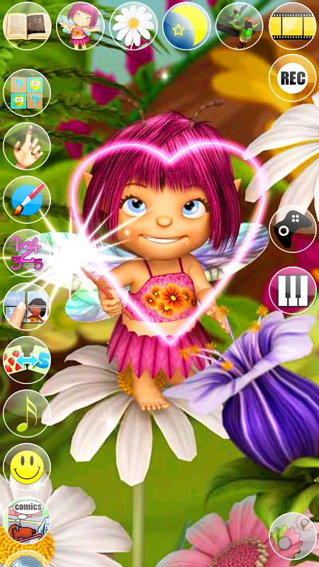 Talking Mary the Baby Fairy screenshot 2