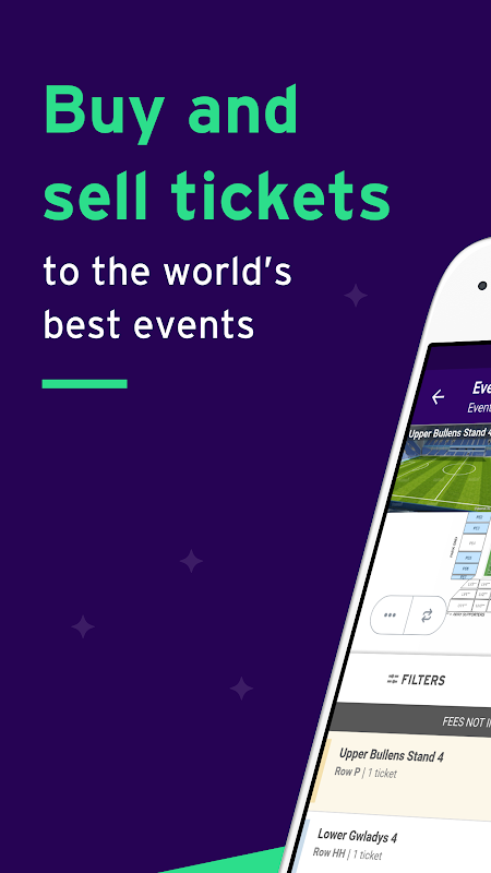 StubHub - Tickets to Sports, Concerts & Events screenshot 1