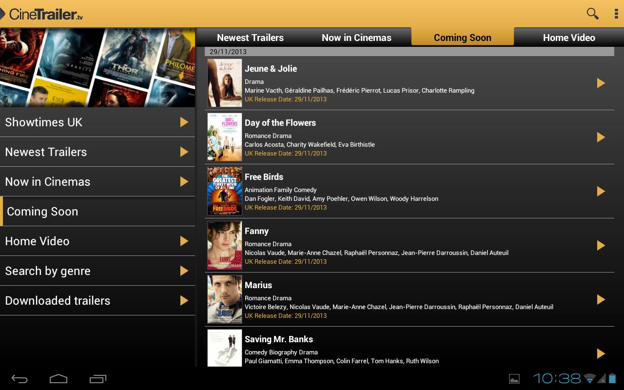 CineTrailer Cinema & Showtimes screenshot 2