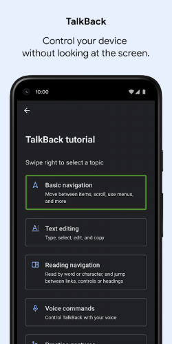 Android Accessibility Suite screenshot 3