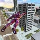 Rope Spider Super Flying Hero