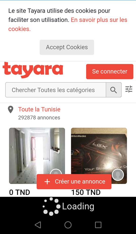 tayara.tn screenshot 1