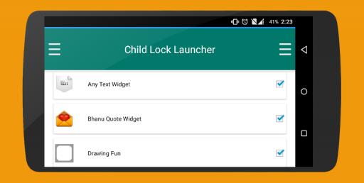 Child Lock Launcher screenshot 10