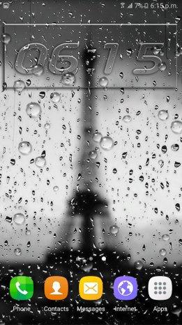 rain live wallpaper screenshot 1 ...