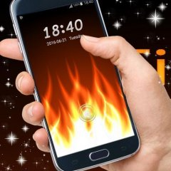 Fire Locker  GO Locker Theme 1 200 1 73 Download APK for Android