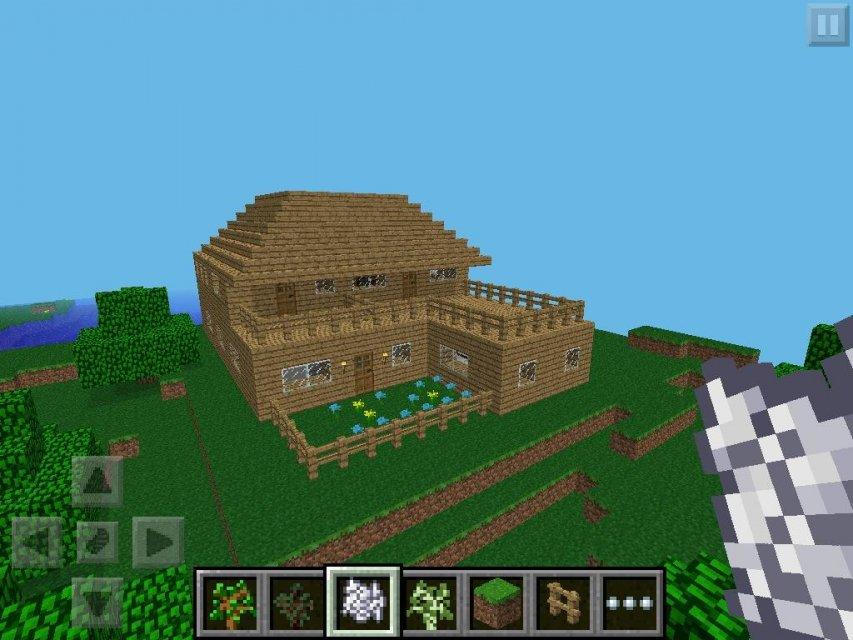 как построить дом в майнкрафте 0.13.0 картинки #7