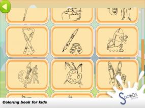 pencil coloring book Screenshot