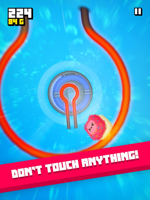 Fluffy Fall: Fly Fast to Dodge the Danger! screenshot 8