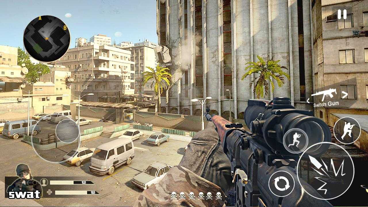 Traffic Sniper Shooter screenshot 1