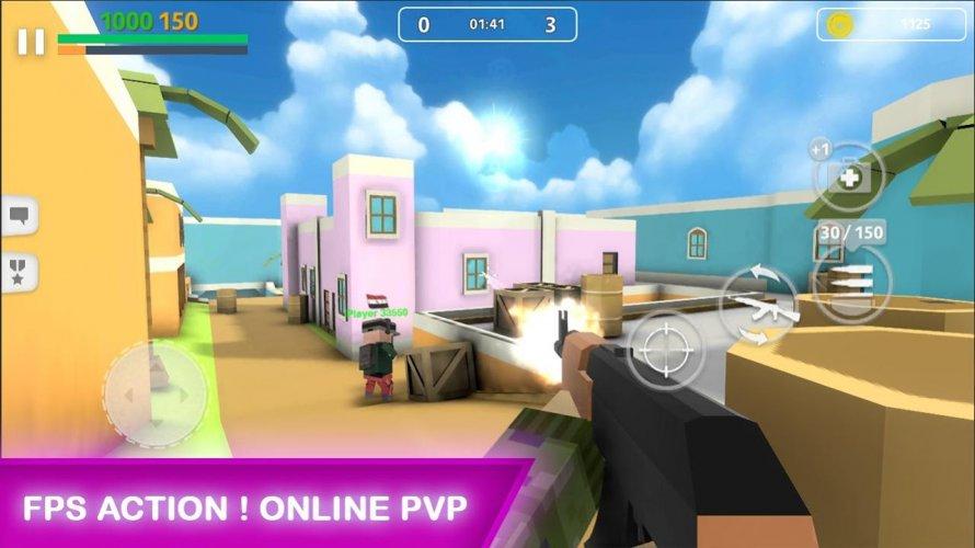 Block Gun: FPS PvP War - Online Gun Shooting Games screenshot 3