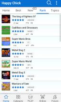 Happy Chick Game Emulator Screenshot