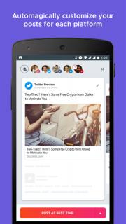 Crowdfire: Social Media Manager screenshot 2