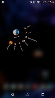 TSF Shell Theme Flames screenshot 4